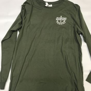 Bare Wires Long Sleeve Military Green