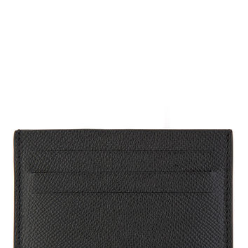 Givenchy Black Pebbled Leather Cardholder