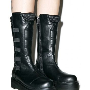 Y.R.U. Dirte Biker Boots | Dolls Kill