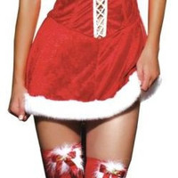 missy claus sexy holiday dress | small