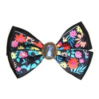 Disney Alice In Wonderland Keyhole Floral Hair Bow