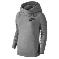 Nike Rally Funnel Neck Hoodie - Women's at Champs Sports