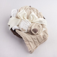 """Feathering the Nest"" Four-Piece Layette Gift Set"