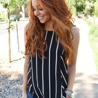 Brighton Striped Tank Top