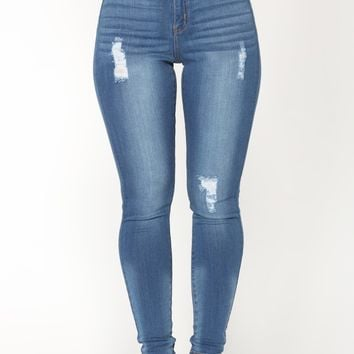 That New New Skinny Jeans - Medium Blue Wash