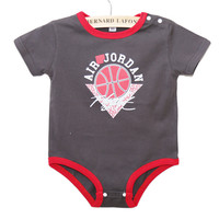 New Summer Boy Girl Baby Sleeveless Bodysuit Jordan Romper Kids Baby Mameluco New Born Baby Clothes Vetement Bebe Garcon Jordan