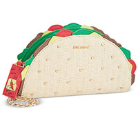 Betsey Johnson Taco Wristlet - Juniors Classically Rad - Macy's