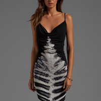 Young, Fabulous & Broke Livinia Skeleton Wash Maxi in Black from REVOLVEclothing.com