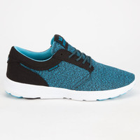 Supra Hammer Run Mens Shoes Black/Blue  In Sizes