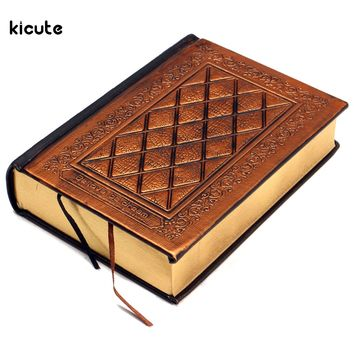 Brand New Retro Vintage Journal Diary Notebook Leather Blank Hard Cover Sketchbook Paper Travel Journal Blank Writing Paper