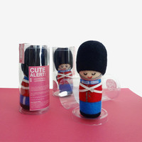 MADE TO ORDER - Needle Felted Sculptures - The Queen's Guard - Royal Guard - Danish Guardsmen - Toy Soldier - Kokeshi - Miniature Wool dolls