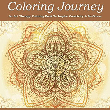 Mandala Coloring Journey An Art Therapy Book To Inspir