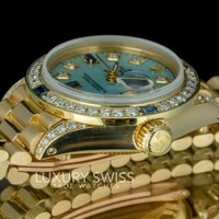 Rolex Lady Datejust 6917 18K Gold 26mm Diamond Dial and Bezel - Pre-owned