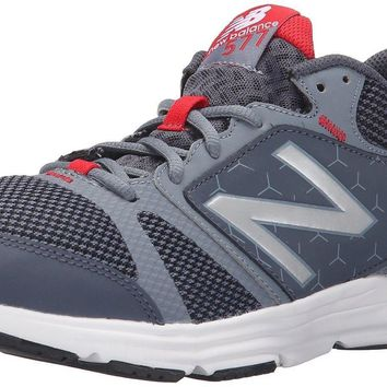 new balance men s 577v4 cush training shoe grey red 7 d m us