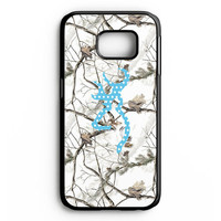 Browning Turquoise Chevron Samsung Galaxy S6 Edge Case
