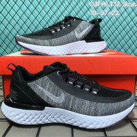 HCXX N096 Nike Air Zoom Presto Fly 2018 Causal Running Shoes Black Grey
