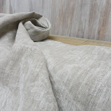 SALE!  TWO Kitchen Natural Towels. Hand Towels. Linen Kitchen Towels. 100% Flax Linen