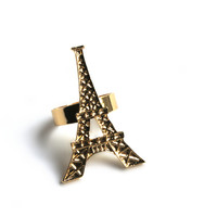 """Oh Parié"" Gold Ring"
