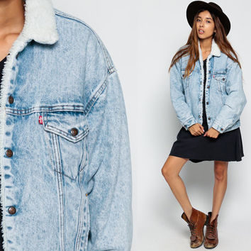 Best Vintage Levi Jean Jackets Products on Wanelo
