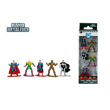 Jada Nano Figures DC Wave 3- 5 Pack A- Superman Parademon Bizarro Lex Luthor General Zod