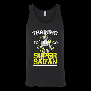 Super Saiyan - Training to go super saiyan - Unisex Tank Top T Shirt - TL01157TT