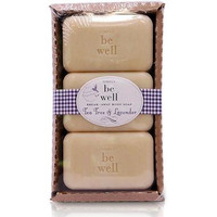 San Francisco Soap Co. Be Well 3 Pack Body Soap - Teatree & Lavender