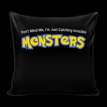 "Pokemon Im just catching invisible monster Pillow Cover 16"" - TL00624PL"