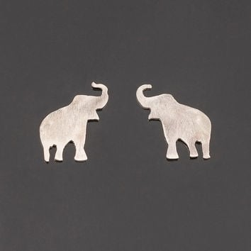 products shop crystal grande earrings super elephant stop stud