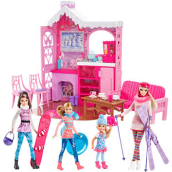 Walmart: Barbie Winter Family Build Up