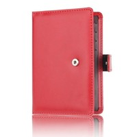 YJYDADA Dedicated Nice Travel Passport ID Card Cover Holder Case Protector Organizer (Red)
