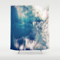 Soft Water Shower Curtain by Printapix