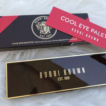 New in Box Bobbi Brown Cool Eye Palette Eye Shadow 6 Colors .21 oz