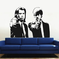 kik2885 Wall Decal Sticker Pulp Fiction Movie Living bedroom fans