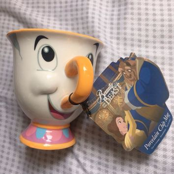 New Beauty and the Beast Mrs Potts' son : Chip Cup Tea Set Coffee Cartoon Mug