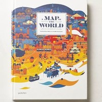 A Map Of The World by Anthropologie Multi One Size House & Home