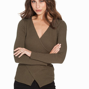 Waist Wrap Top, NLY Trend