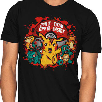 zombie pikachu pokemon shirt