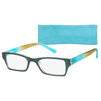 ICU Eyewear Women's Vista Turquise Temple Readers