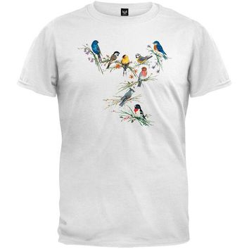 DCCKJY1 Birds of a Feather White T-Shirt