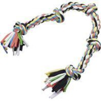 Ethical Dog - Tuggin Tees 5-knot Rope Dog Toy