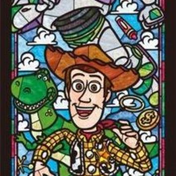 5D Diamond Painting Toy Story Stain Glass Kit