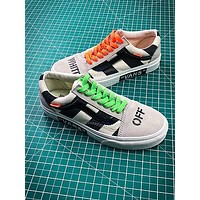 Off White X Vans Vault Og Style 36 Style 1 Low Canvas Shoes