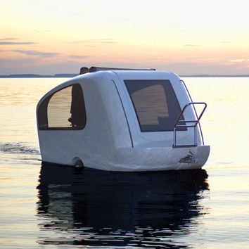 Sealander Schwimmcaravan at Firebox.com