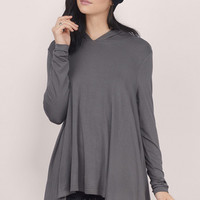 Infamous Hooded Swing Top $36