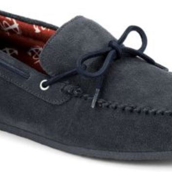Sperry Top-Sider R&R 1-Eye Moc Slipper Grey, Size 8.5M  Men's Shoes