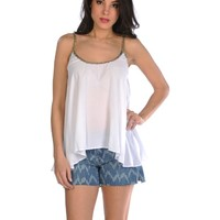 BB DAKOTA Philena Tank - Optic White