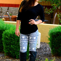 MADAME PYRAMIDS LEGGINGS