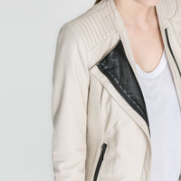 LEATHER JACKET - Blazers - Woman | ZARA United States