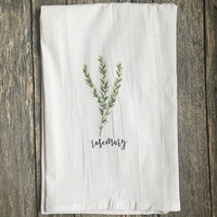 Herb Tea Towels