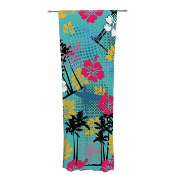"Victoria Krupp ""Surf Your Way""  Decorative Sheer Curtain"